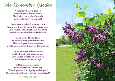 The remember garden poem %28small%29