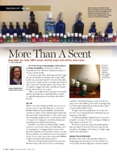 Abvi goodwill magazine  more than a scent story