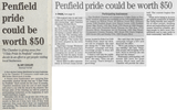 Penfield pride could be worth 50  7.11.07 penfield post
