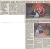 Local talent sings  dances and plays its way through pippen  8.9.07 penfield post