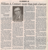 William a. centner obit  3.29.07 penfield post