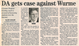 Da gets case against wurme  4.8.04 penfield post