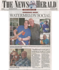 Cambridge house watermelon social  news herald  8.3.15